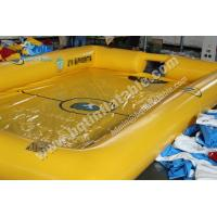 Buy cheap Inflatable football field, soccer playground from wholesalers