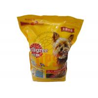 Quality Large Pet Food Packaging Plastic Zipper Bags For Storage Aluminium Laminated Material for sale