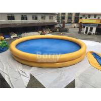 Wholesale Round Baby Kids Safety Inflatable Swimming Pool With Logo Printing from china suppliers