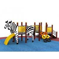 Preschool Kids Outdoor Playground Equipment , Children Play Equipment
