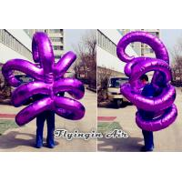 Wholesale Bright Purple Inflatable Hook Costumes for Christmas and Halloween Party Supplies from china suppliers