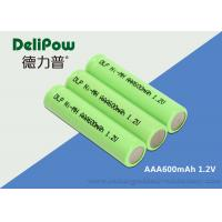 1.0v~1.2V AAA NIMH Rechargeable Battery With UL / CE / ROHS Certificate