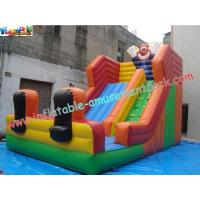 Wholesale Clown Water-proof Commercial Inflatable Dry Slides For Water Games 7L x 4W x 5.5H Meter from china suppliers