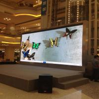 Wholesale P6 SMD Fixed Indoor Advertising LED Display With Iron Cabinet Video Display from china suppliers