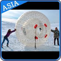 China Clear Inflatable Human Hamster Ball ,  Zorb Ball Used On Snow on sale