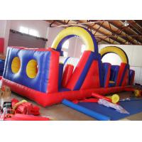 Wholesale Outdoor Children Sport Bouncy Castle Obstacle Course Security - Guarantee from china suppliers