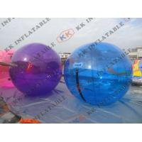 Wholesale 4 Seams Stitching Inflatable Water Ball  , Large Inflatable Beach Balls from china suppliers