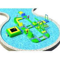 Wholesale Durable Customized Inflatable Water Parks / Colorful Amusement Water Park from china suppliers