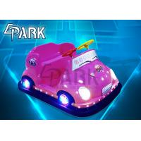 Wholesale Promotion Children Indoor Bumper Car Ride Game Machine with LED light from china suppliers