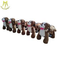 Buy cheap Hansel coin operated amusement animal ride on for kids plush motorized animals from wholesalers