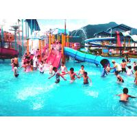 Wholesale Fiberglass Kids Water House Playground Inside Water Parks With Pump from china suppliers
