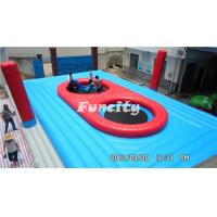 China Good Quality 0.55mm PVC Tarpaulin Beach Volleyball Game Colorful Inflatable Sports Games on sale