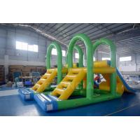 Wholesale Supply Water Park Inflatable Aqua Slide Floating Water Tower For Lake from china suppliers