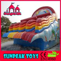 Buy cheap WL-1863 High Quality Swimming Pool Slides For Sale, Big Water Slides For Sale from wholesalers