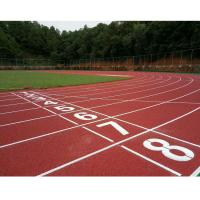 Quality 400 Meters Modular Outdoor Flooring Spray Coat System For Athlete Running for sale
