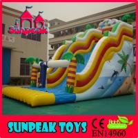 Quality SL-217 Giant Commercial Inflatable Slide For Sale for sale