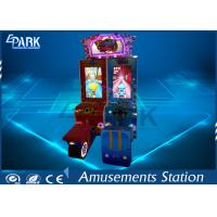 Attractive Cartoon Design Racing Game Machine With Metal firm structure