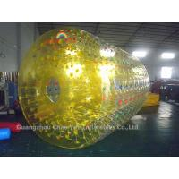 Wholesale Commercial Grade Yellow Water Roller Ball for water sports from china suppliers