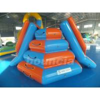 Wholesale Climbing InflatableWaterSlidesForSeaside OrSwimming Pool from china suppliers