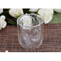 Wholesale Clear Double Wall Borosilicate Glass Juice Cups Mouth Blown Thermo from china suppliers