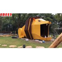 Outdoor Landscape Lighthouse Playground , Backyard Playground Equipment Minimalistic Design