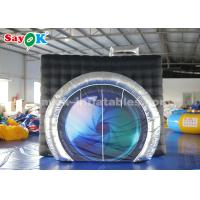 Buy cheap 3*2.7*2.5m Oxford Cloth Inflatable Photo Booth with Camera Shape for Sale from wholesalers