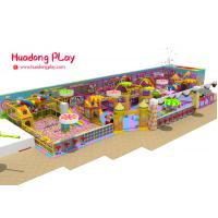 China Colorful Soft Play Equipment High Strength Aluminium Alloy Long Life Span on sale