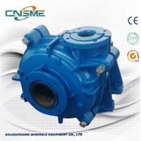 Wholesale Blue Color Rubber Lined Slurry Pump For Mining And Minerals With Rubber Impeller from china suppliers