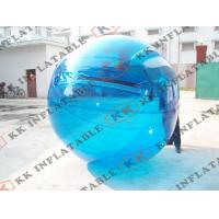 China PVC Clear Jumbo Water Ball / Inflatable Human Hamster Ball For Inflatable Zorb Ramp on sale