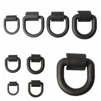 Wholesale Customized Safety D Rings Steel Heavy Duty Weld Forged Mounting Buckle from china suppliers