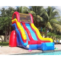 Wholesale 18 OZ PVC Commercial Inflatable Slide Kids Jumping Bouncer from china suppliers