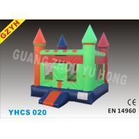 Wholesale Commercial Backyard 0.55mm PVC Tarpaulin Kids Inflatable Bouncy Castle, House YHCS 020 from china suppliers