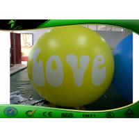 Wholesale Decoration Inflatable Advertising Balloons / Giant Inflatable Ball For Humans from china suppliers