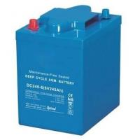 Wholesale 245Ah VRLA AGM Battery , 6 Volt Deep Cycle Battery For EV Golf / Utility Vehicle from china suppliers