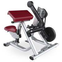 Wholesale Gym Seated Biceps Curl Machine With Adjustable Cushions Custom Color Available from china suppliers