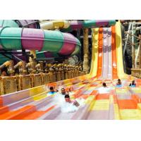 Wholesale Anti - Static High Speed Slide Beautiful Rainbow Color For Water Sports Park from china suppliers
