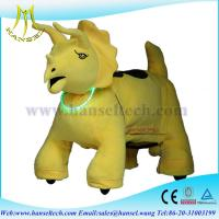 Wholesale Hansel battery operated ride animals ride on batterie toys 12v from china suppliers