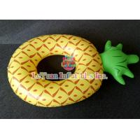Wholesale Colorful Pineapple Inflatable Pool Floats Comfortable Swimming Ring from china suppliers