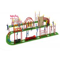 Quality Outside Kids Climbing Play Equipment  For Children Park Obstacle Challenge for sale