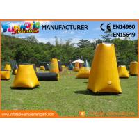 Wholesale Durable Inflatable Paintball Games / Air Up Bunkers Customized from china suppliers