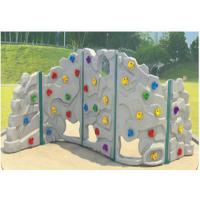 Wholesale Attractive Shapes Children Plastic Climbing Wall Weather Resistant from china suppliers