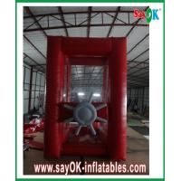 Wholesale Amusement Park Red Gaint Inflatable Money Booth Cash Machine Catch Money from china suppliers