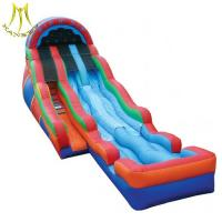China Hansel china inflatables inflatable obstacle course swimming pool slide on sale