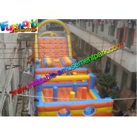 Wholesale Sewed Inflatable Outdoor Play Equipment With Climbing Wall For Fun from china suppliers