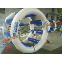 Wholesale 2m Blue Inflatable Water Games , Inflatable Water Wheel for Kids And Adults from china suppliers