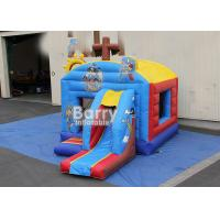 Wholesale Cool Style Commercial Pirate Ship Inflatable Bounce House Combo UL Lead Free from china suppliers