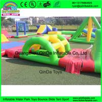 Buy cheap inflatable floating water park, inflatable water amusement park for adults from wholesalers