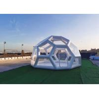 Wholesale Outdoor Transparent Inflatable Bubble Tent / Inflatable Geodesic Dome Tent For Camping from china suppliers