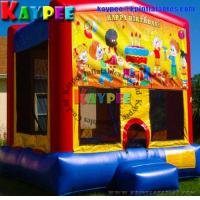 Wholesale Birthday Bouncer PVC inflatable jumper mini bouncer Inflatable Bouncey Castle KBO011 from china suppliers