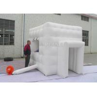 Quality Mobile Advertising Inflatable Tent 9.8 * 9.8 * 9.8 Ft With Carrying Bags for sale